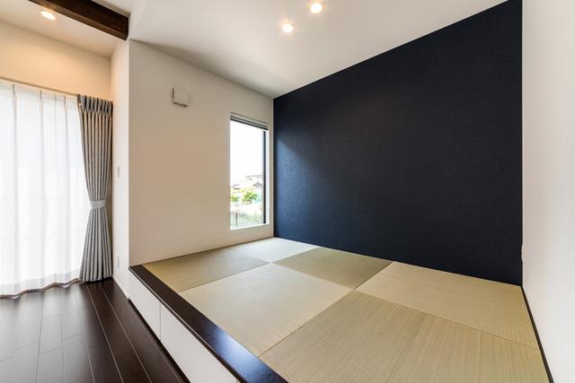 写真:小上がり畳スペース