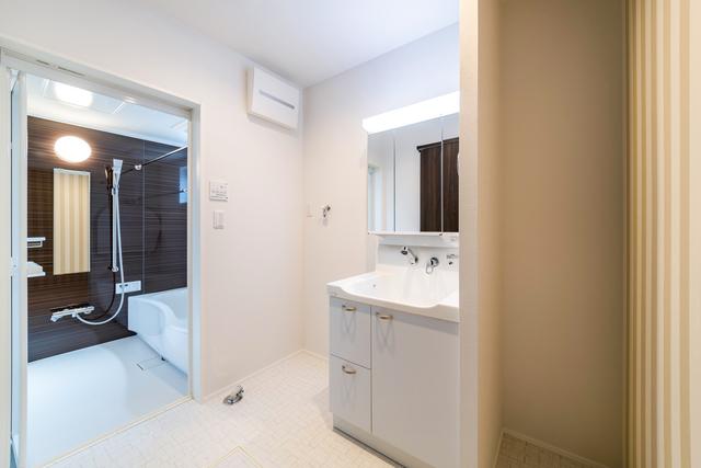 写真:洗面スペース